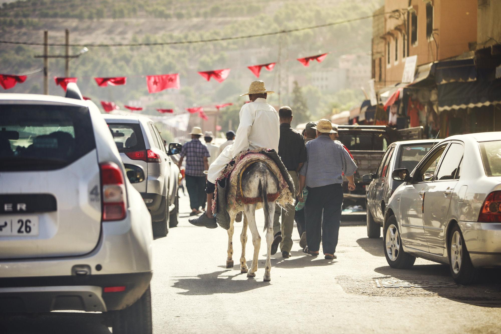 on-the-road-esel-verkehr-marokko-2016-mcu-ausflug
